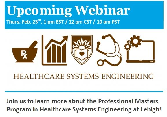 Upcoming HSE Webinar Thursday February 23rd at 1:00 PM EST Click to register