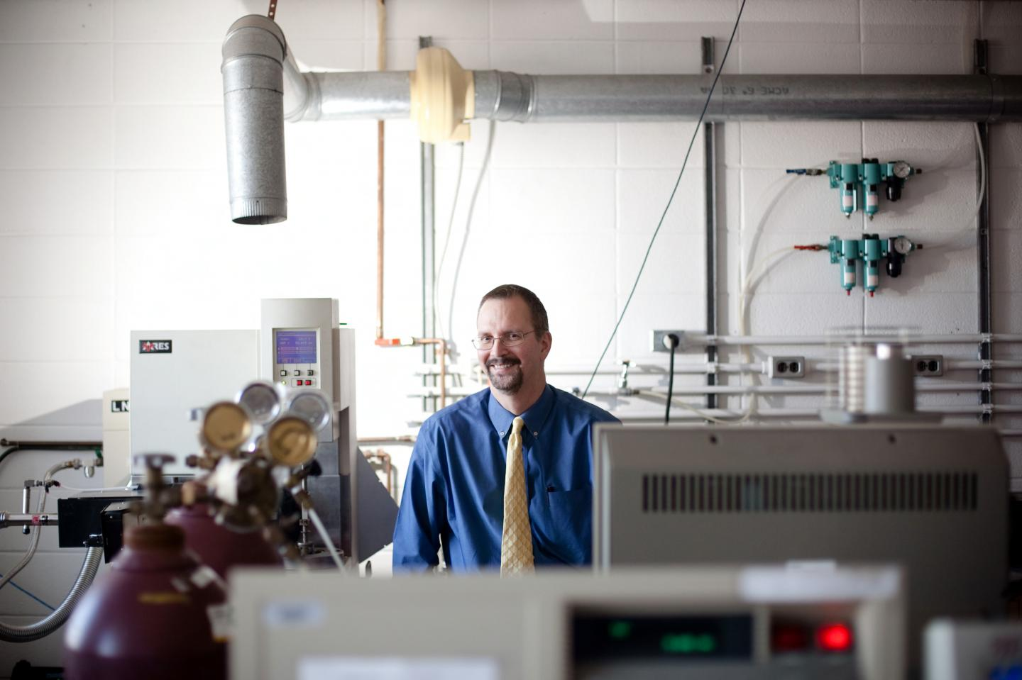 Dr. Ray Pearson's research focuses on the fracture of polymeric materials